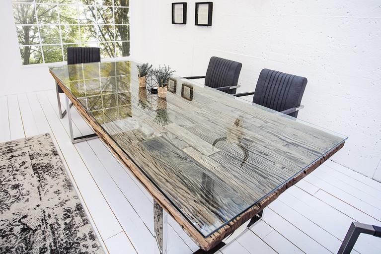 Esstisch Holz Hellgrau