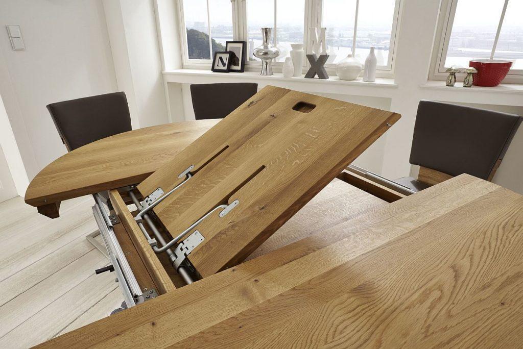 Esstisch Holz Massiv Rustikal