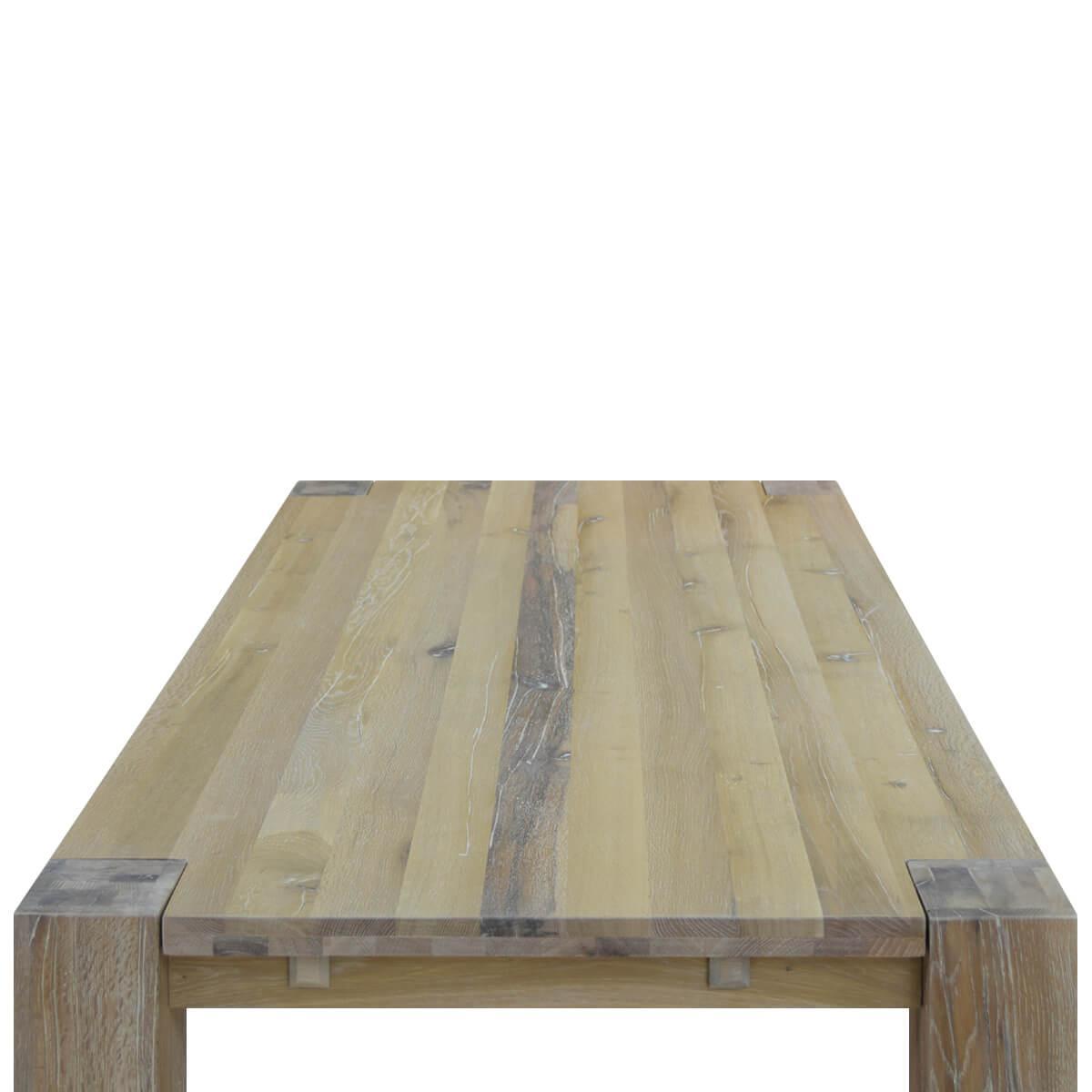 Esstisch Holz Massiv Weiß