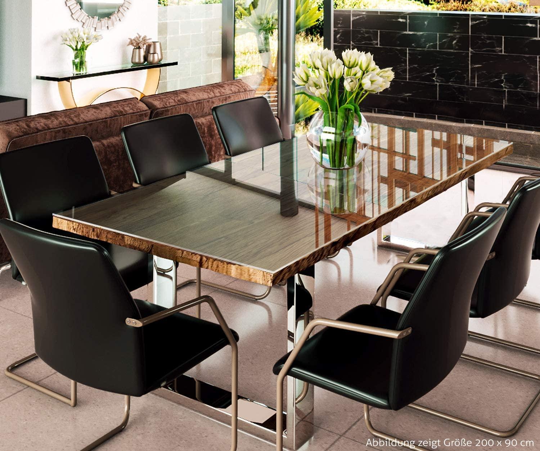 Esstisch Holztisch Mit Glas