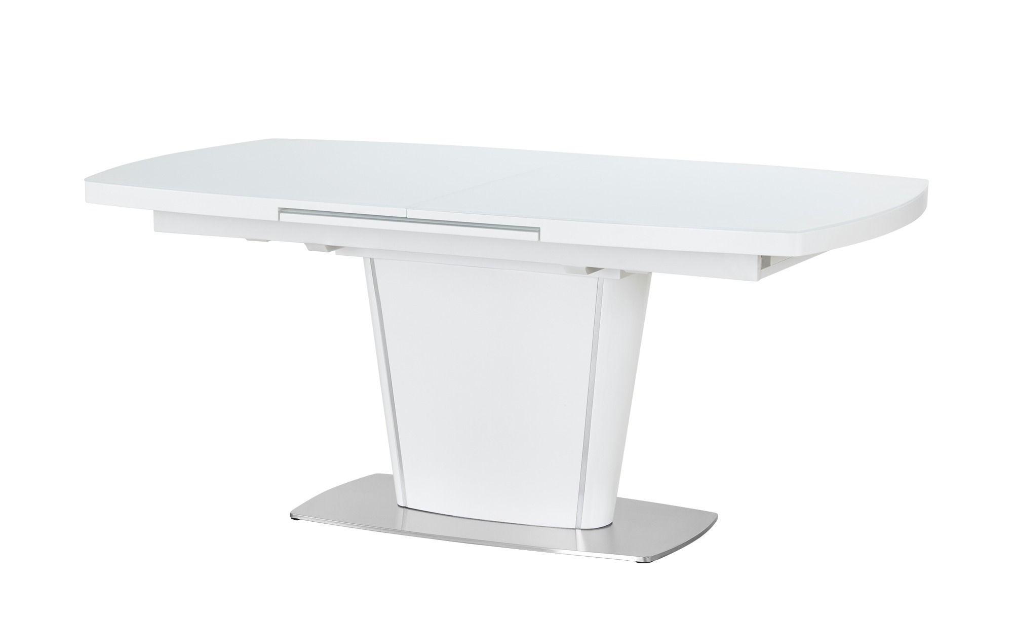 Esstisch Klein Weiß Ausziehbar
