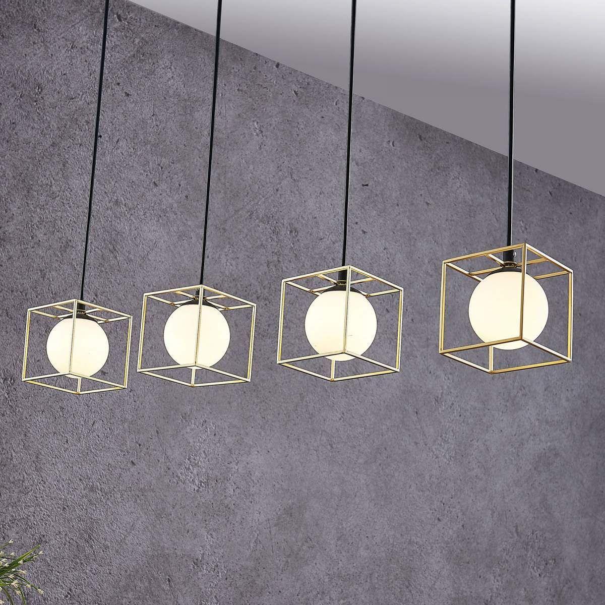 Esstisch Lampe Glaskugeln