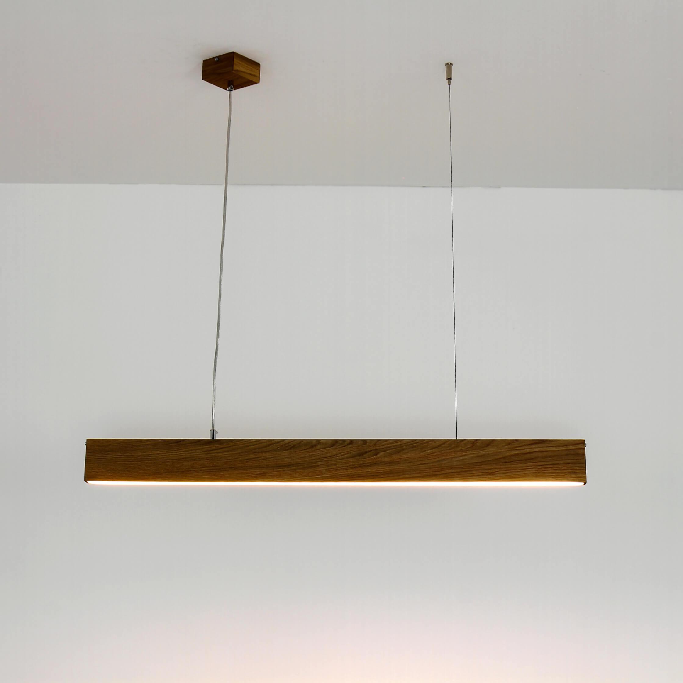 Esstisch Lampen Holz