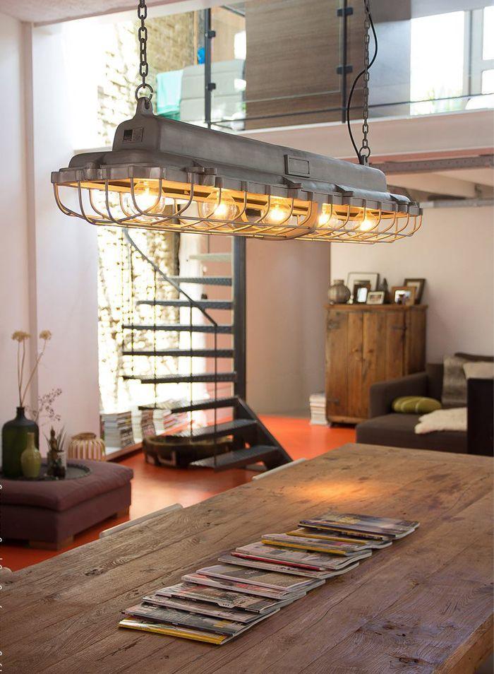 Esstisch Lampen Industriedesign