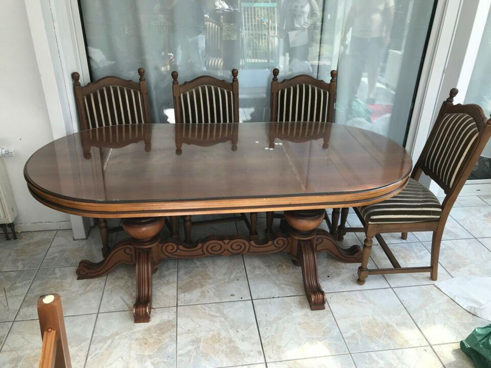 Esstisch Mit 8 Stühlen