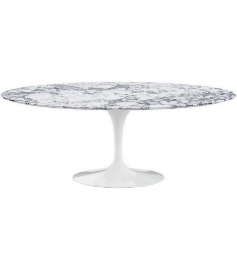 Esstisch Oval Marmor