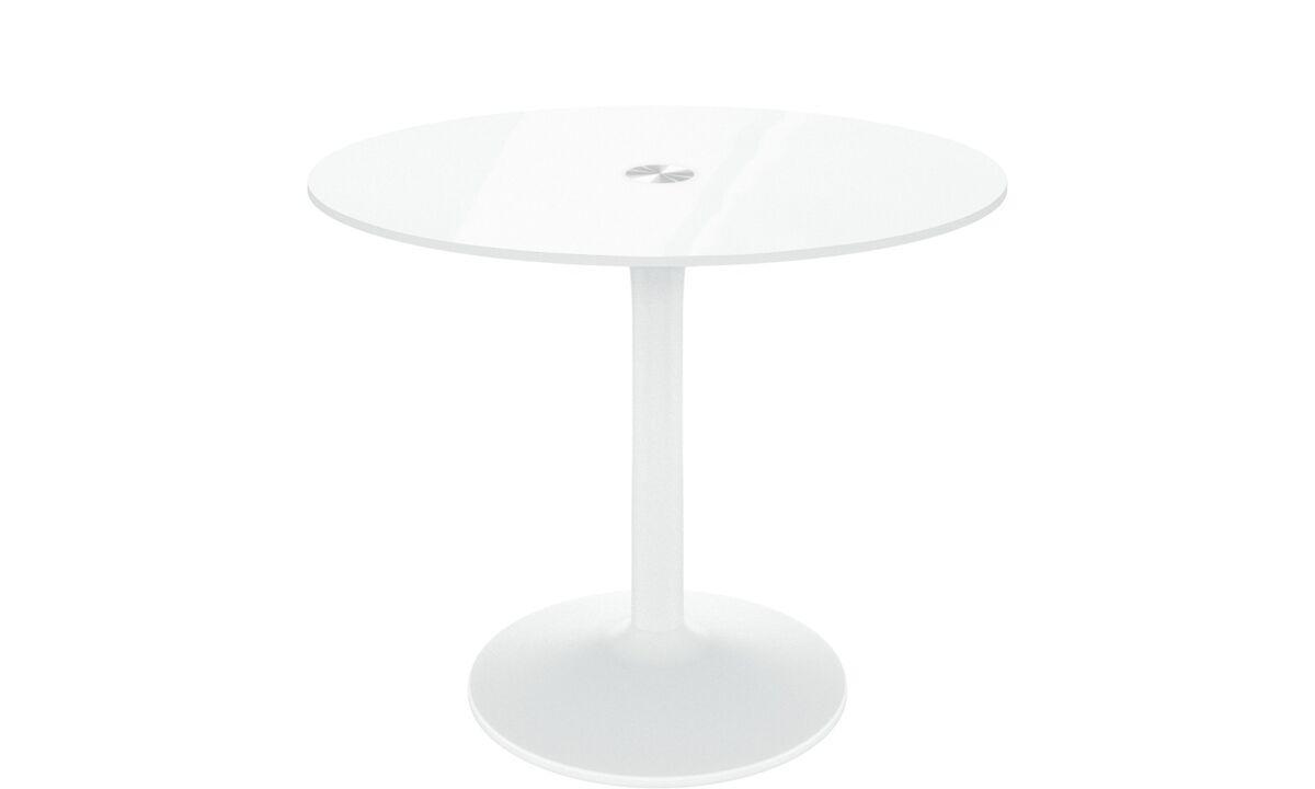 Esstisch Rund Weiß Mit Stühlen