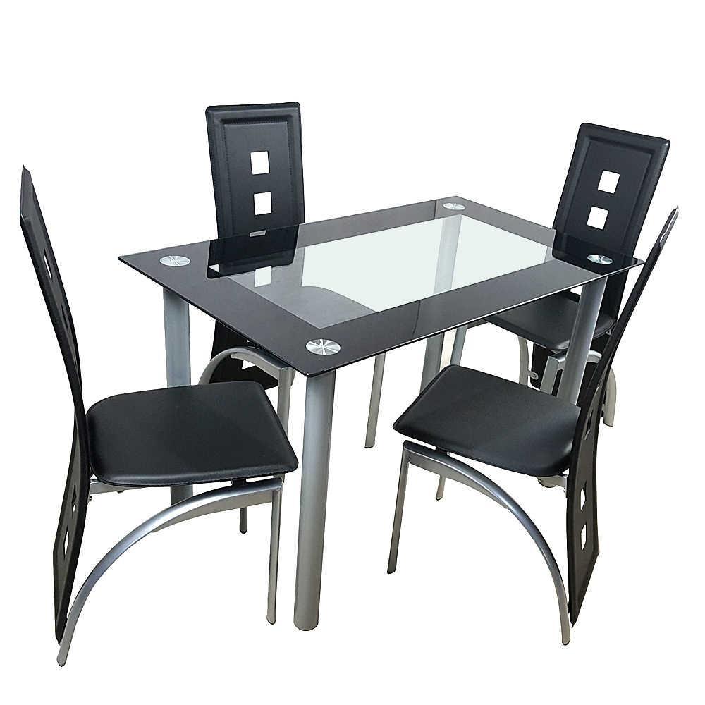 Esstisch Schwarz Stühle