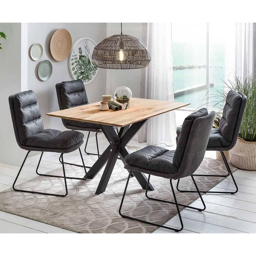 Esstisch Schwarze Stühle
