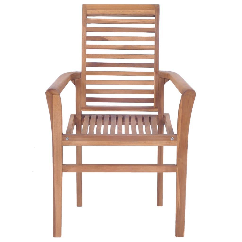 Esstisch Stühle Stapelbar