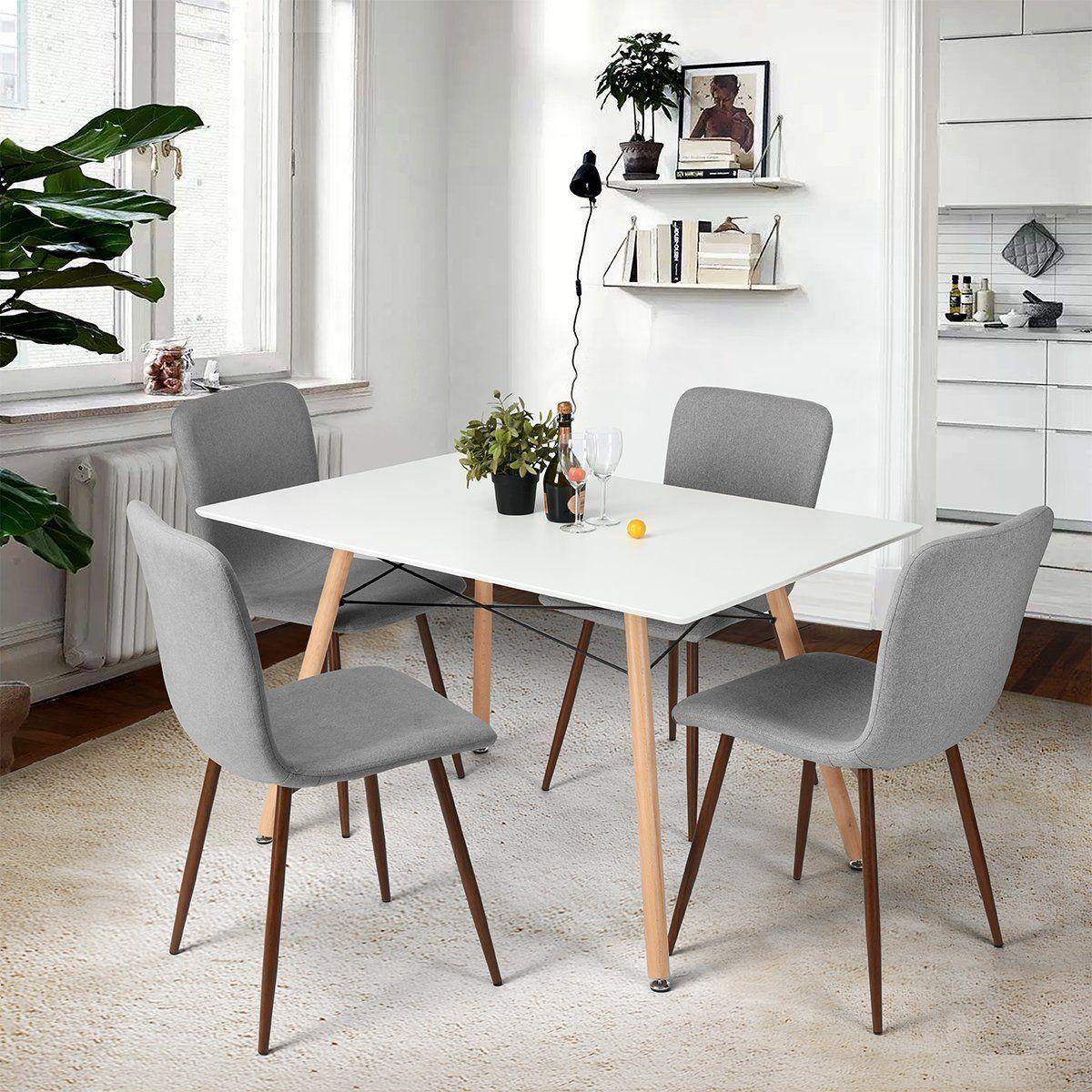 Esstisch Stühle 4 Set