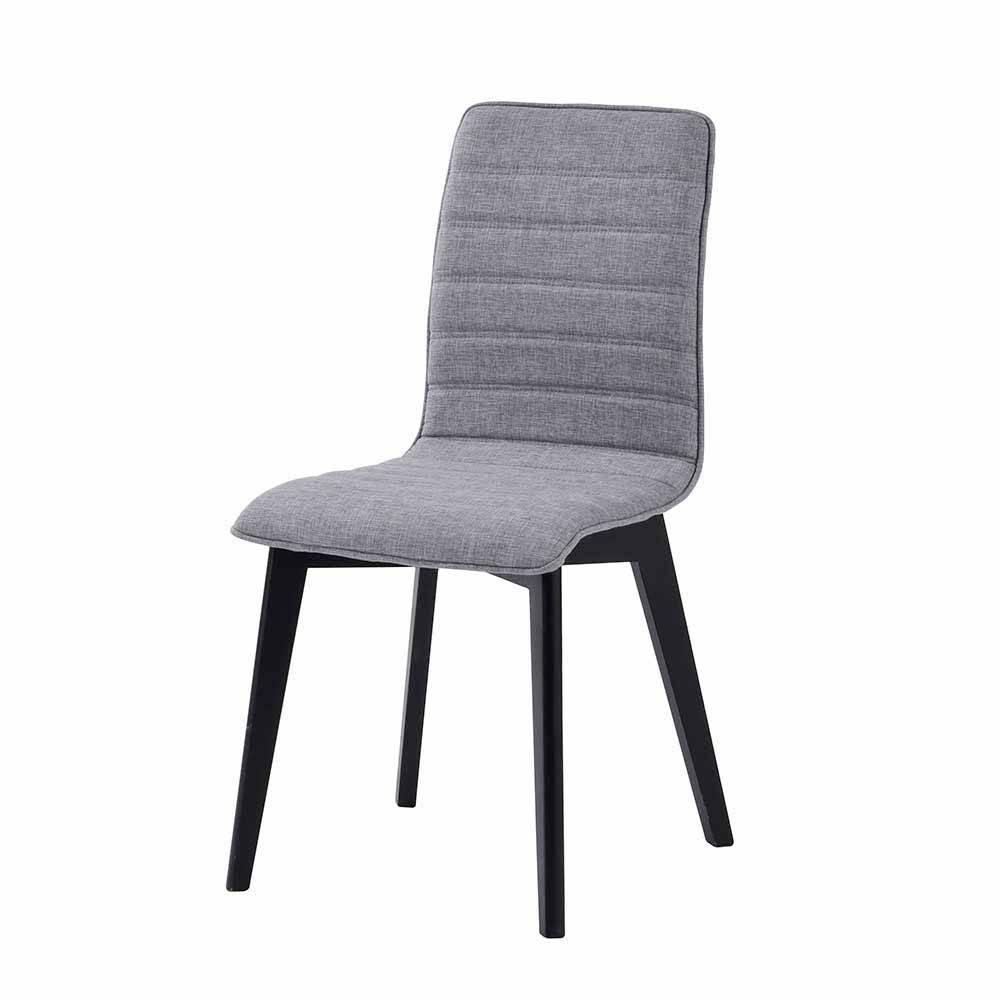 Esstisch Stühle Anthrazit