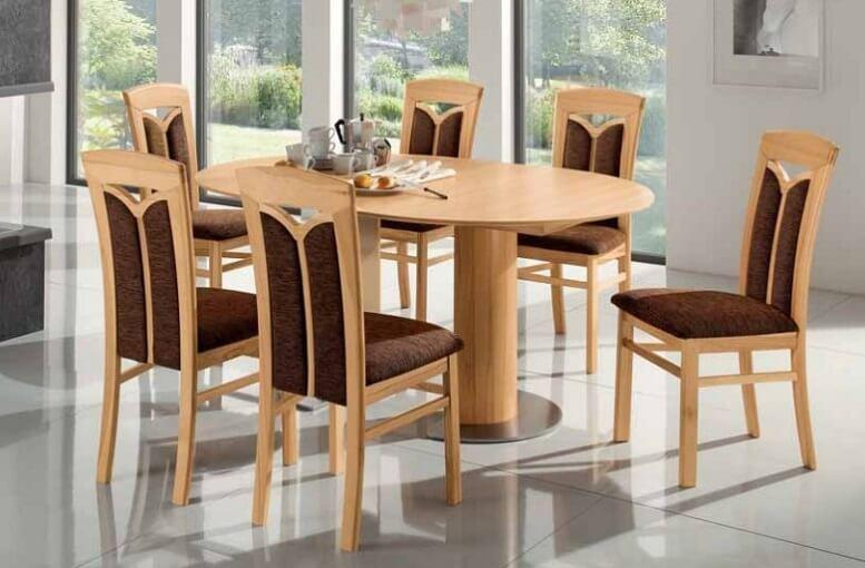 Esstisch Stühle Holz Design