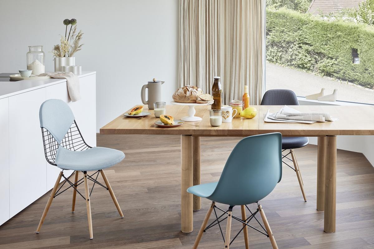 Esszimmer Eames Stühle
