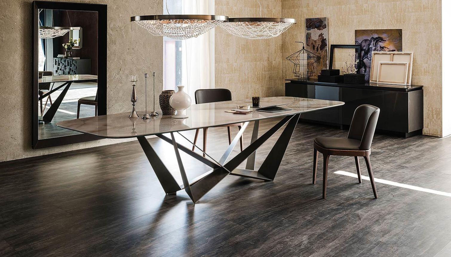 Esszimmer Italienische Designer Stühle