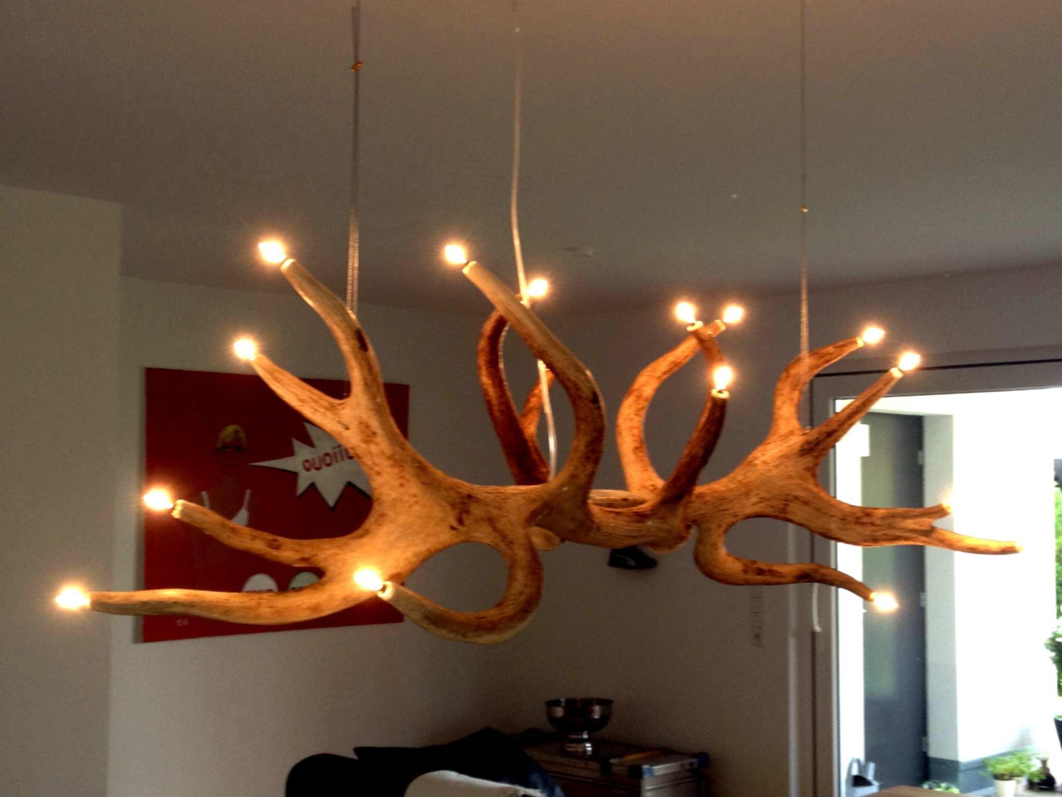 Esszimmer Lampe Holzbalken