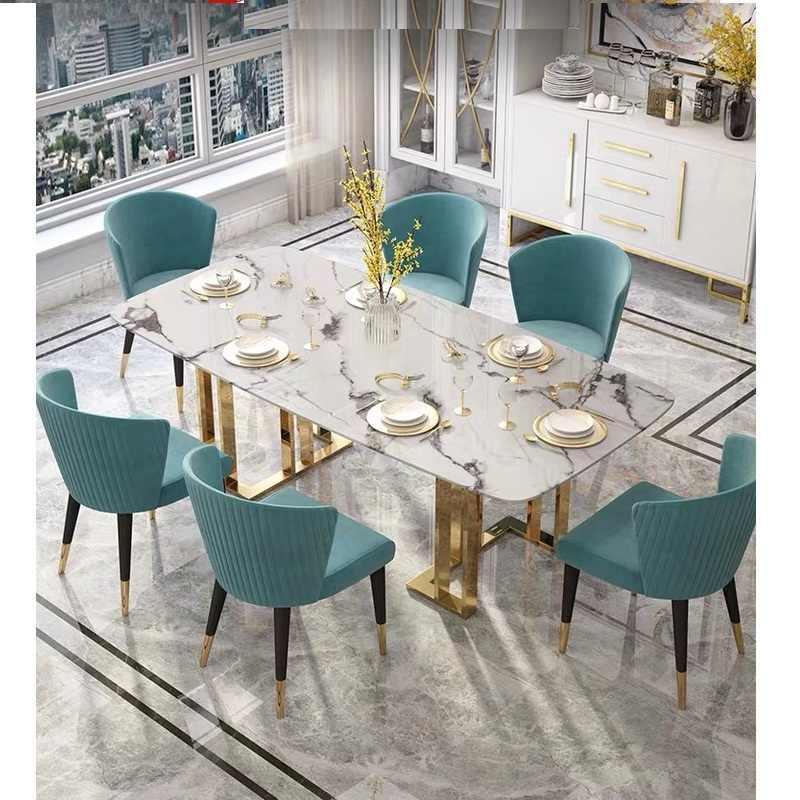Esszimmer Modern Luxus Esstisch Mit Stühlen Modern