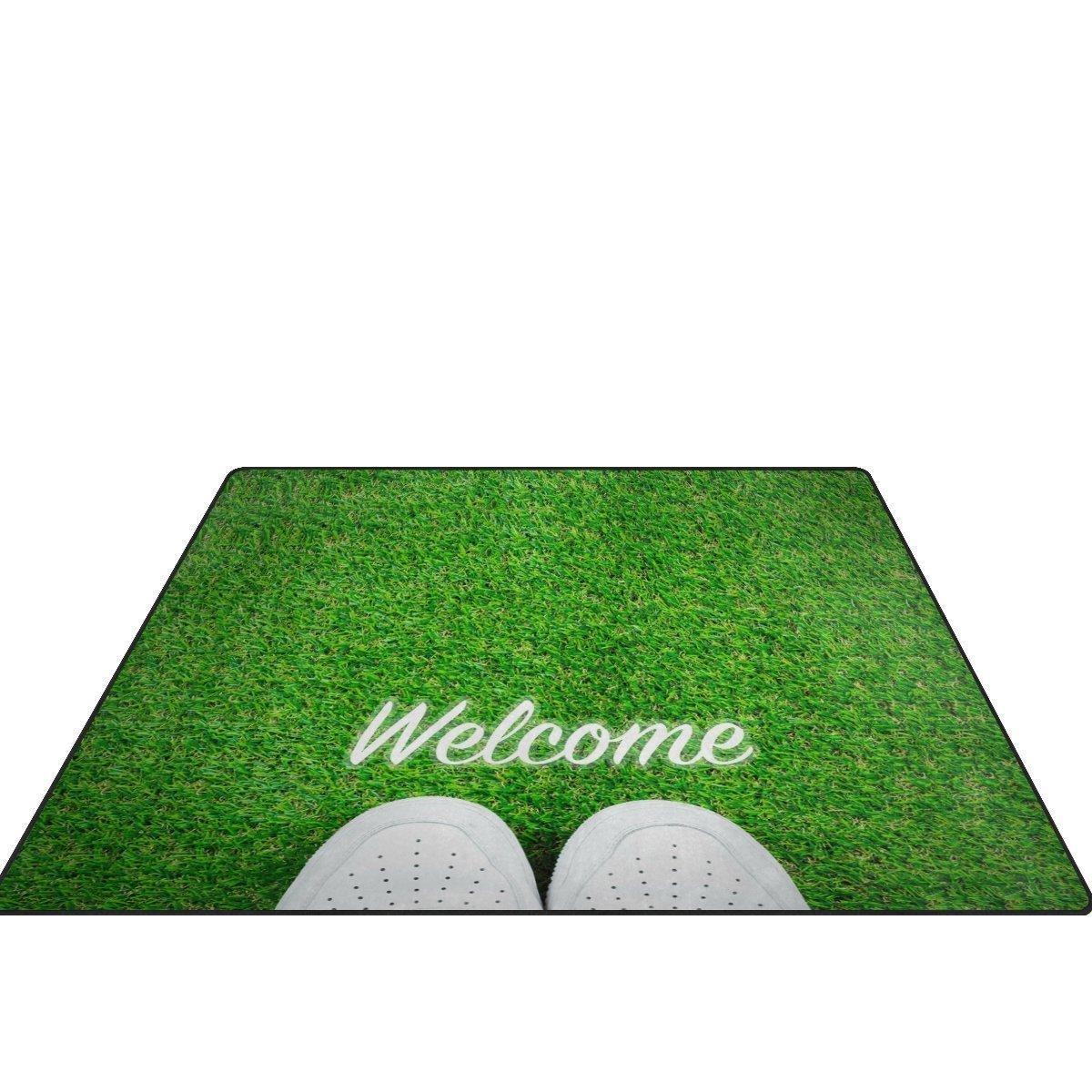 Esszimmer Teppich Grün