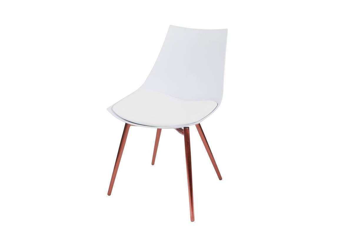 Esszimmerstühle 4er Set Weiß