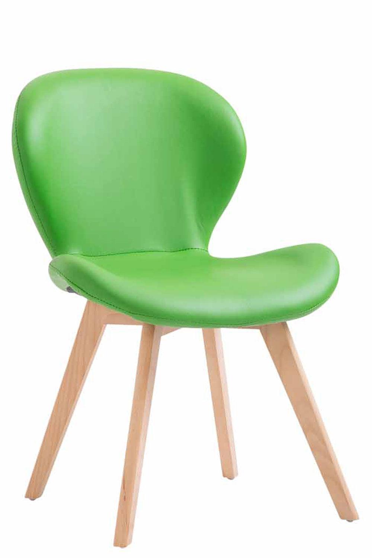 Esszimmerstühle Grün Kunstleder