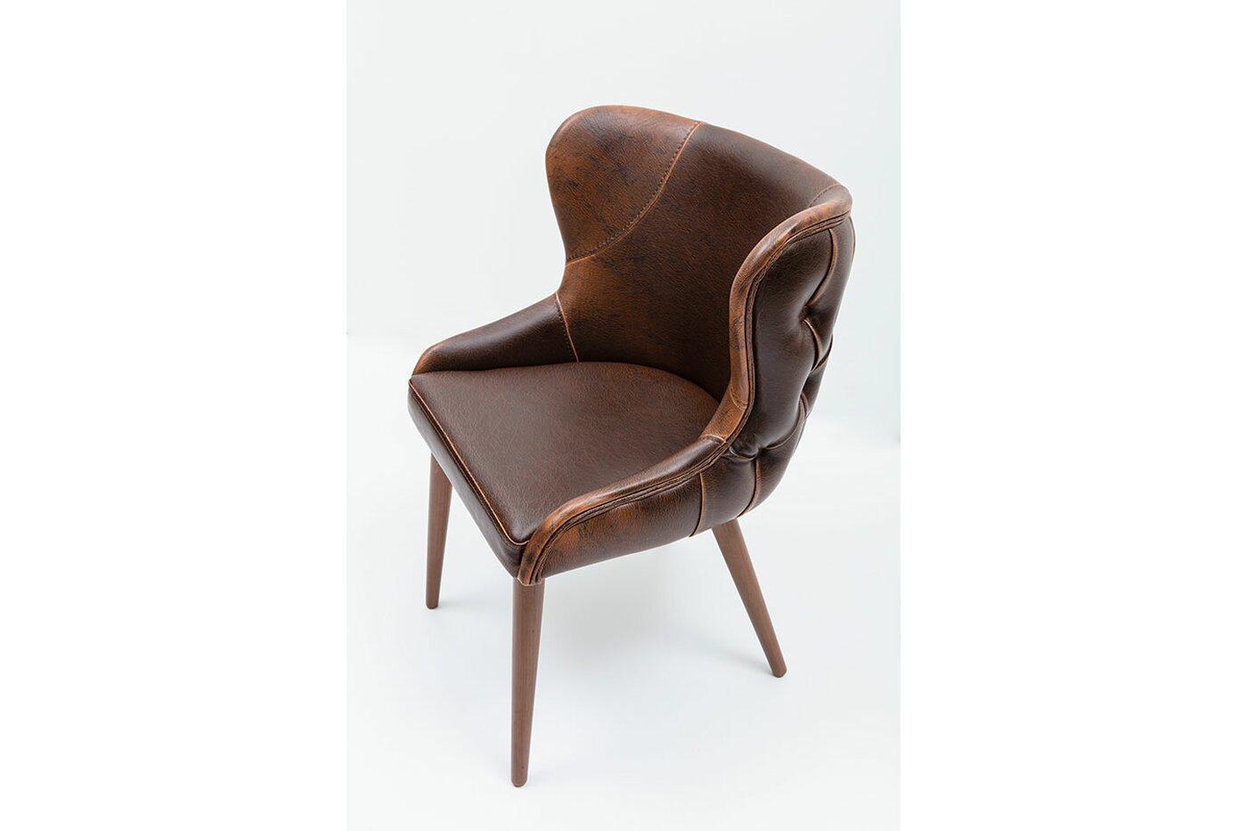 Esszimmerstühle Leder Design