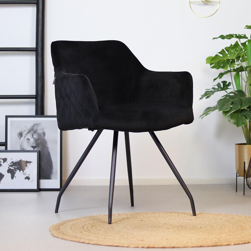 Esszimmerstühle Mit Armlehne Schwarz