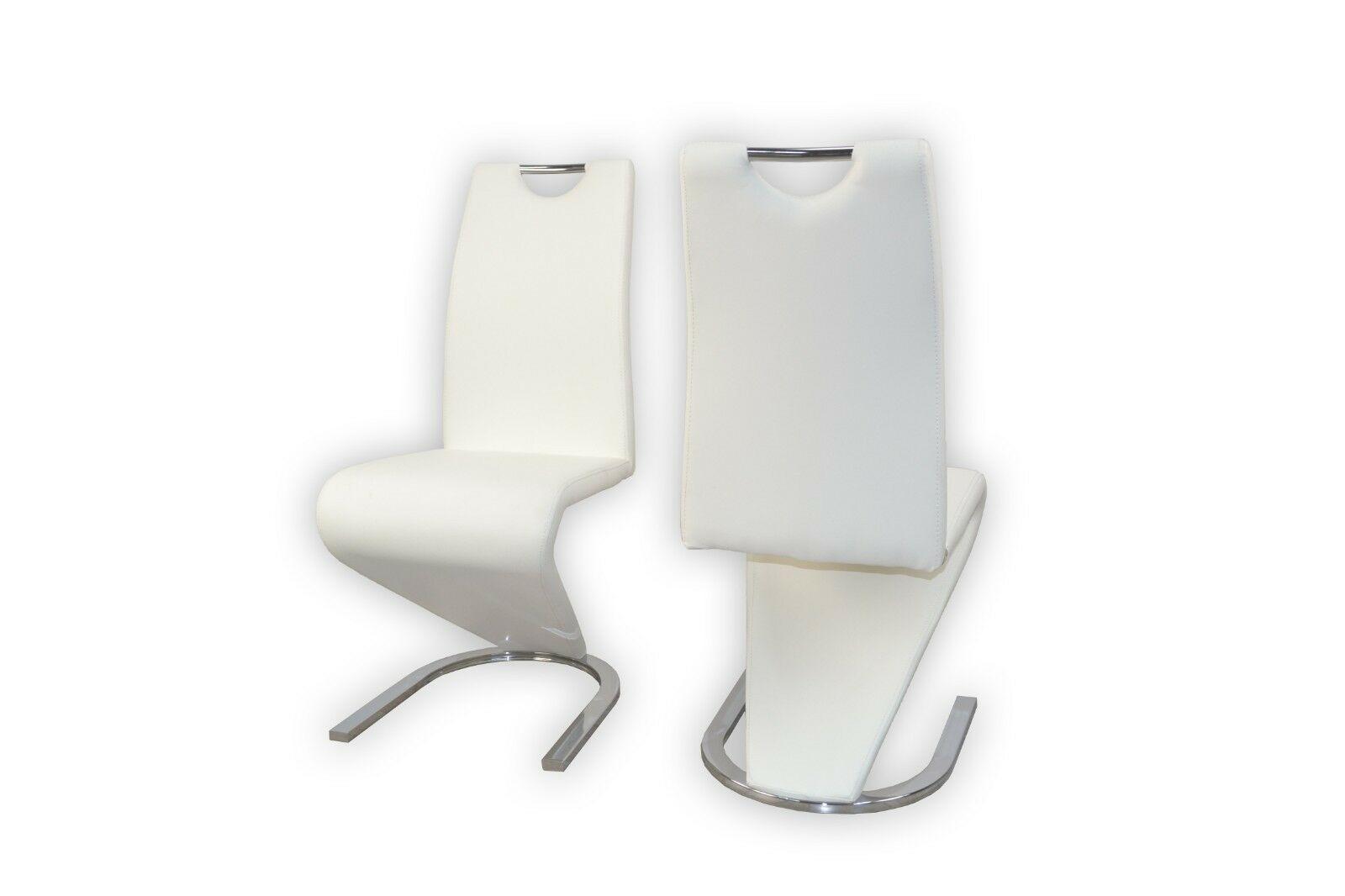 Esszimmerstühle Weiß Polster
