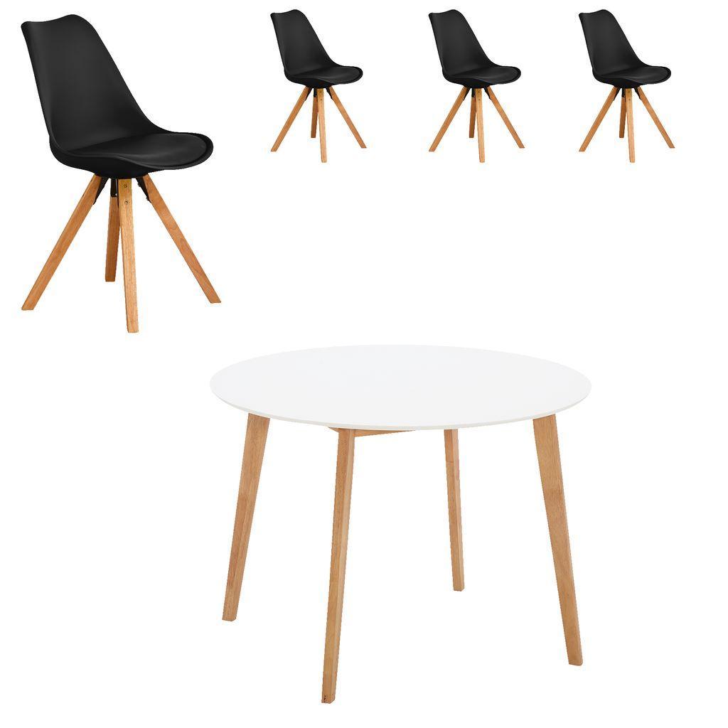 Esszimmertisch Rund Mit 4 Stühlen