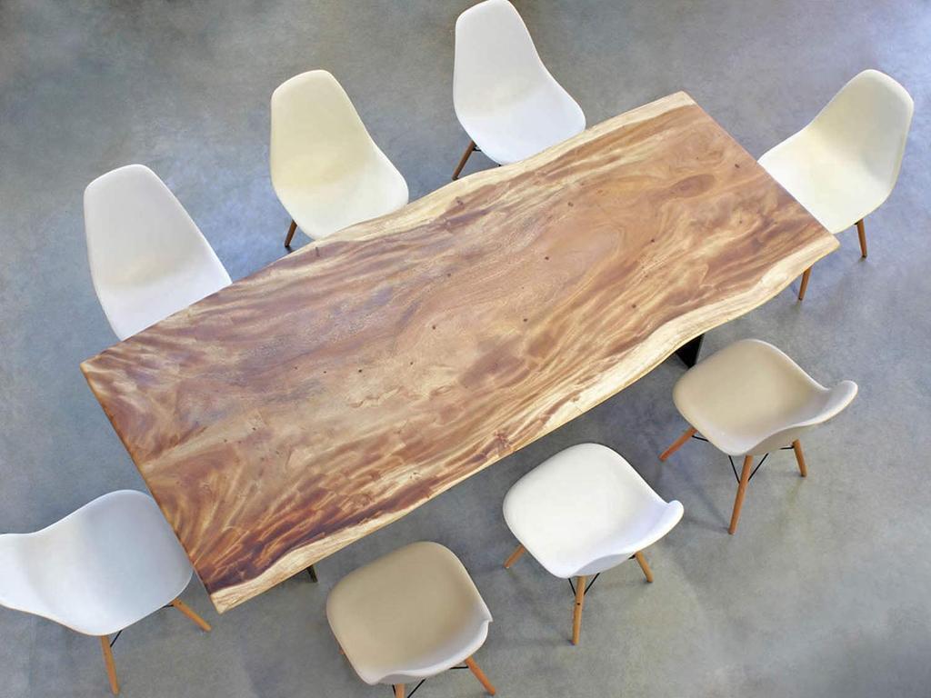 Exklusive Esstische Massivholz