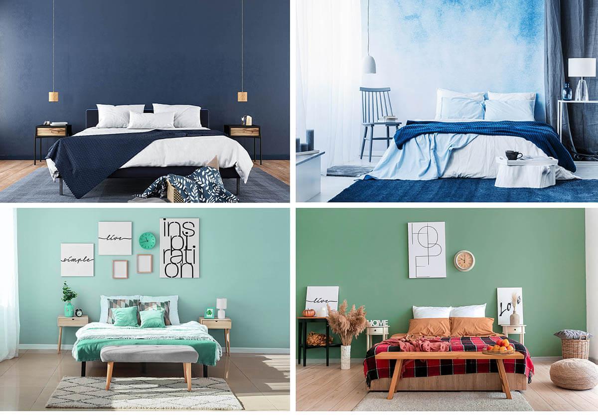 Farbgestaltung Schlafzimmer Farben