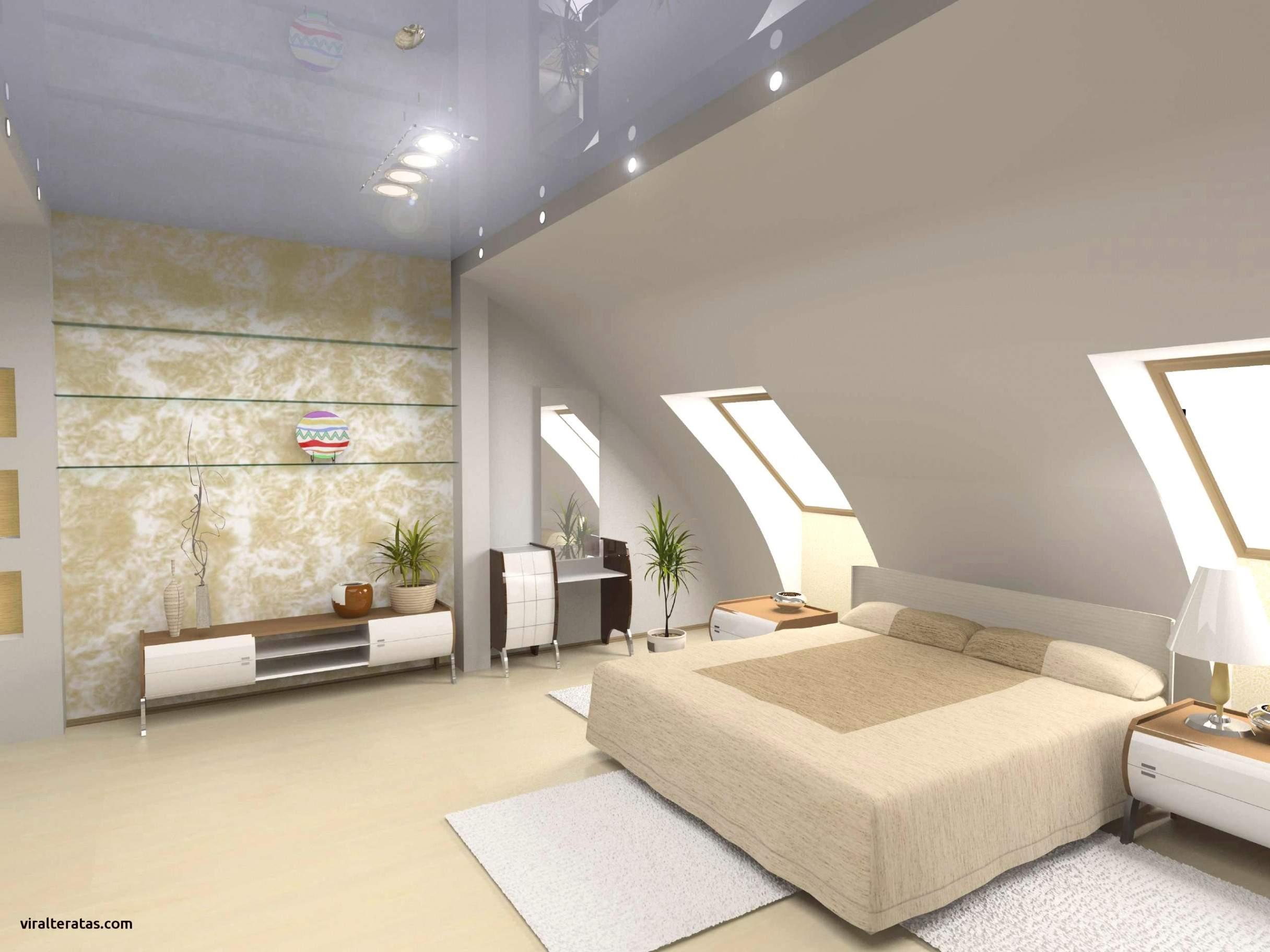 Farbgestaltung Schlafzimmer Mit Schräge