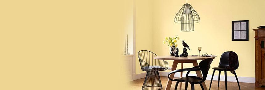Farbgestaltung Wohnzimmer Gelb Grau