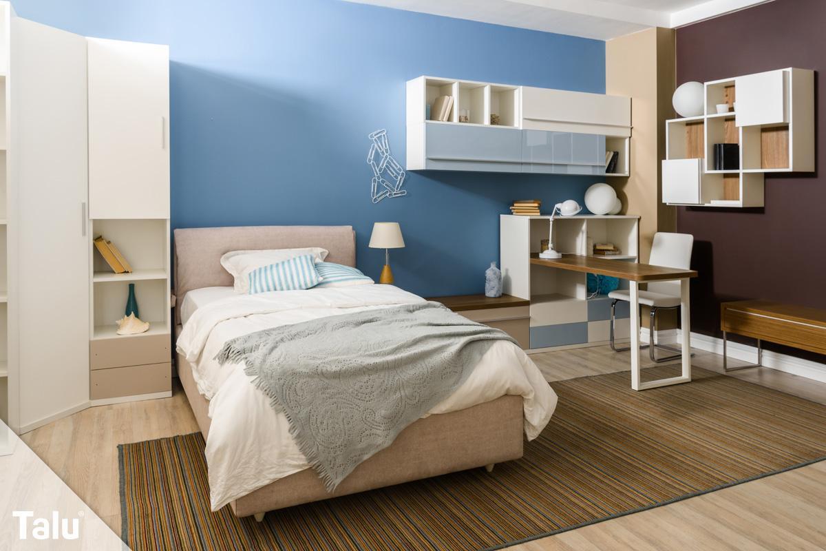 Farbideen Schlafzimmer Wandgestaltung Farbe