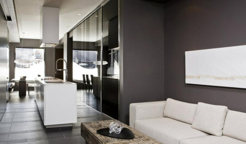 Farbideen Wohnzimmer Grau