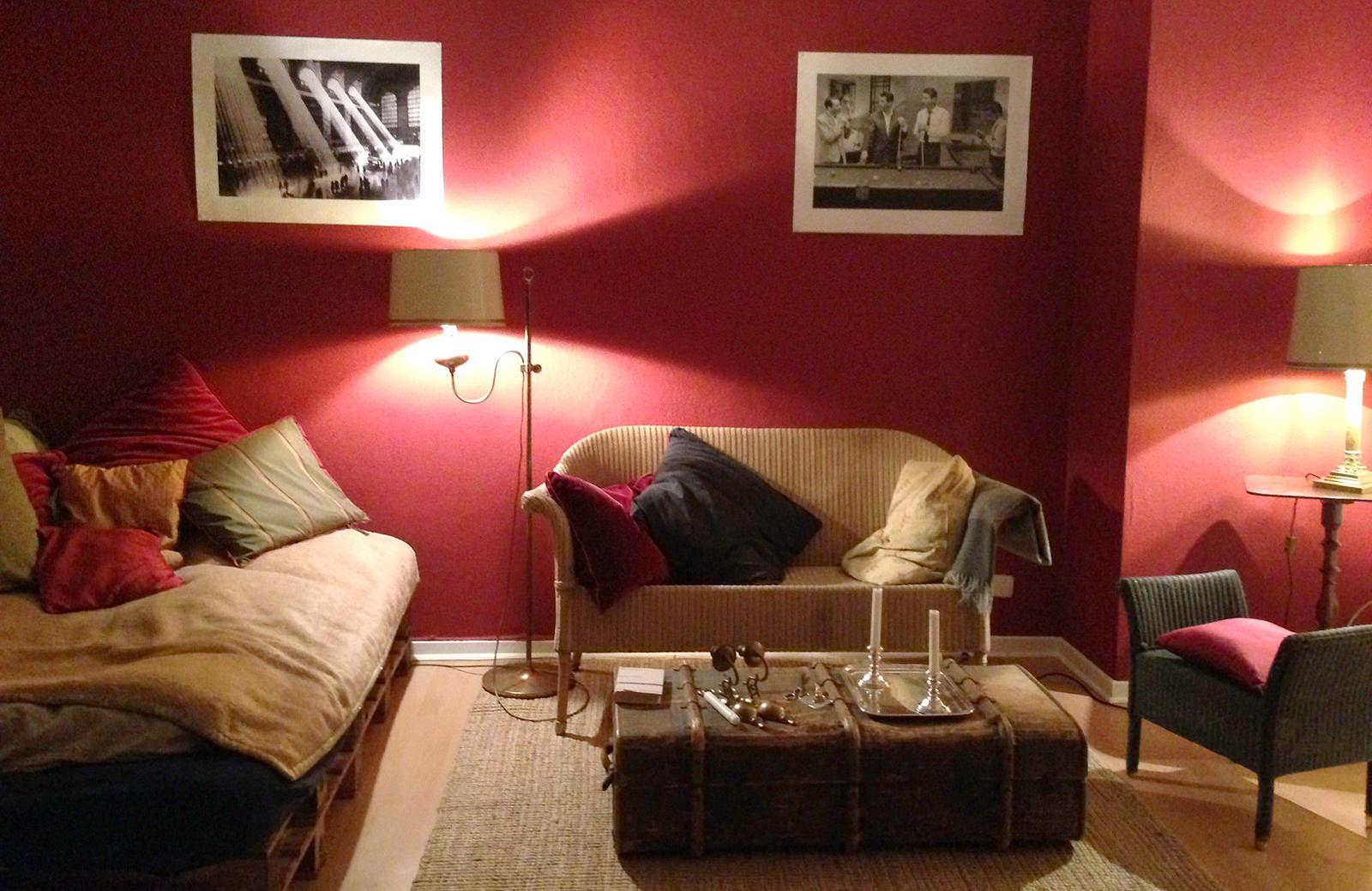 Farbkonzept Wohnzimmer Beige