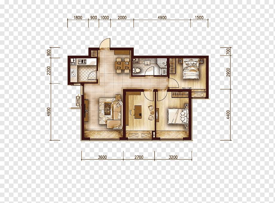 Feng Shui Wohnzimmer Grundriss