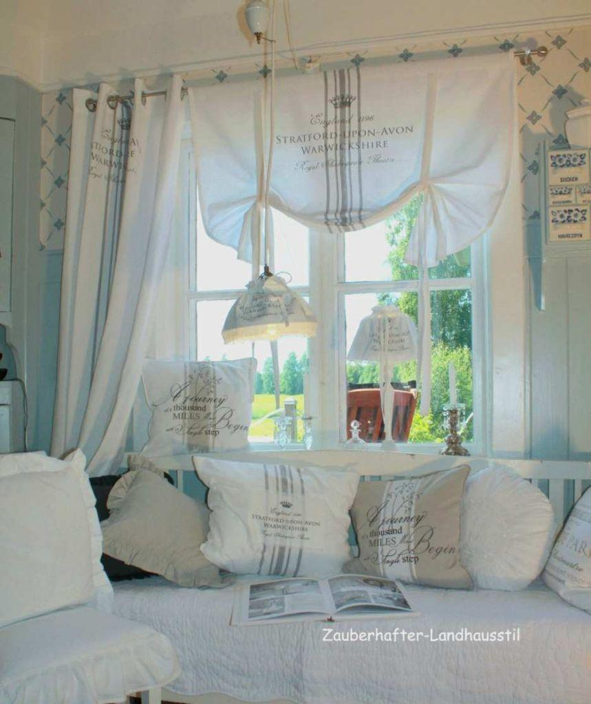 Fenster Gardinen Ideen Wohnzimmer