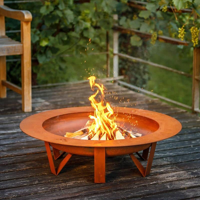 Feuerschale Garten Gestalten