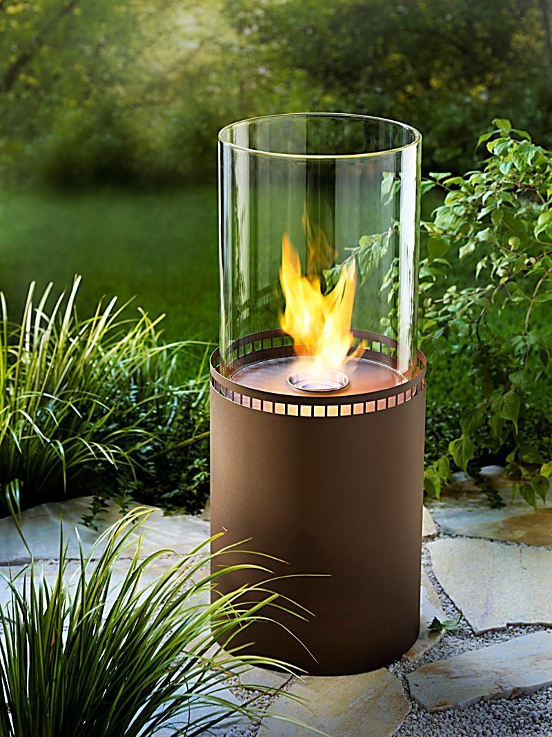 Feuerstelle Terrasse Ethanol