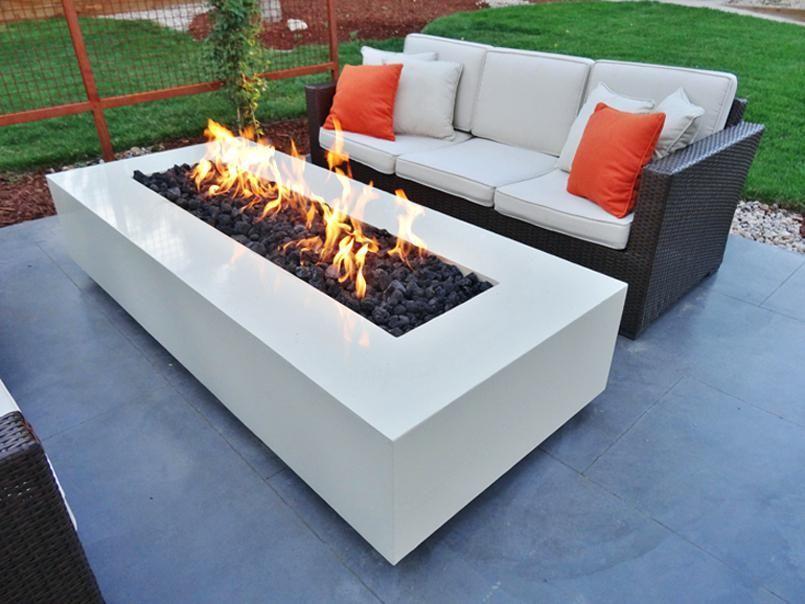Feuerstelle Terrasse Holz