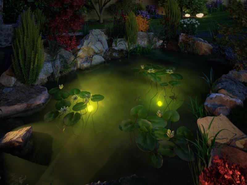 Fischteich Gartenteich Ideen