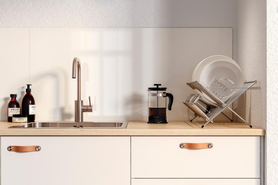 Fliesenspiegel Küchenrückwand Glas Ikea