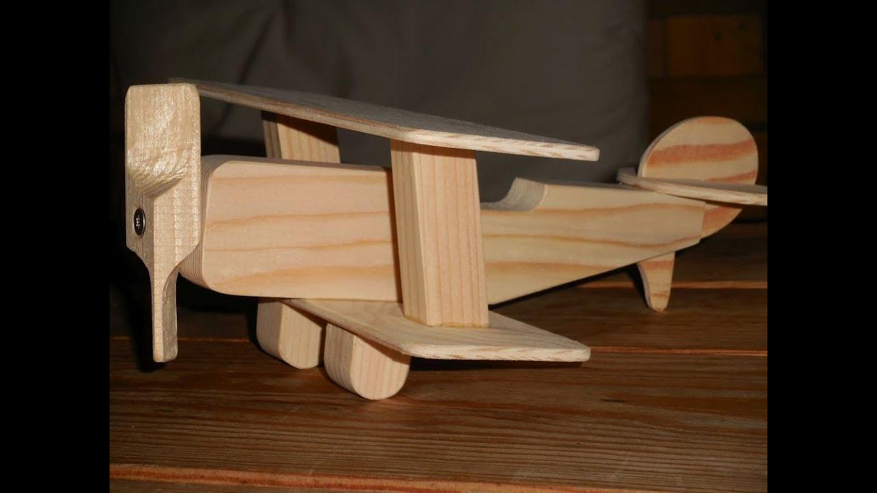 Flugzeug Lampe Holz