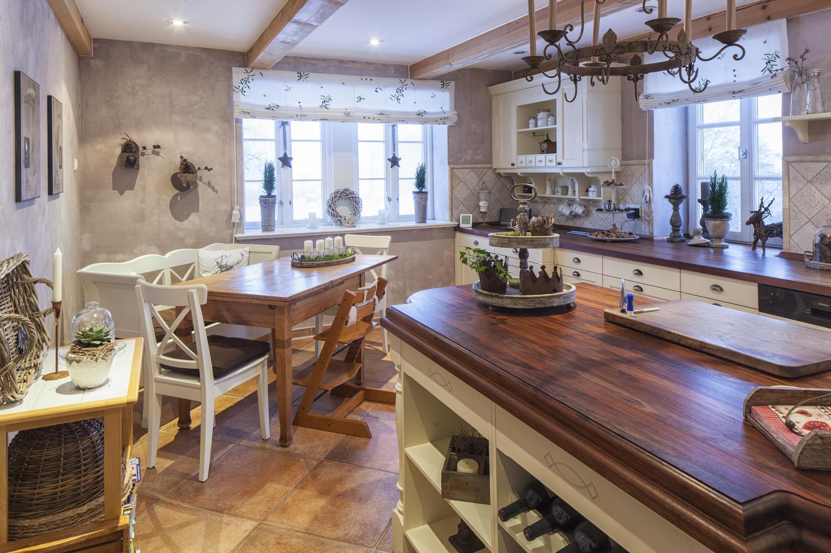 Französischer Landhausstil Küche