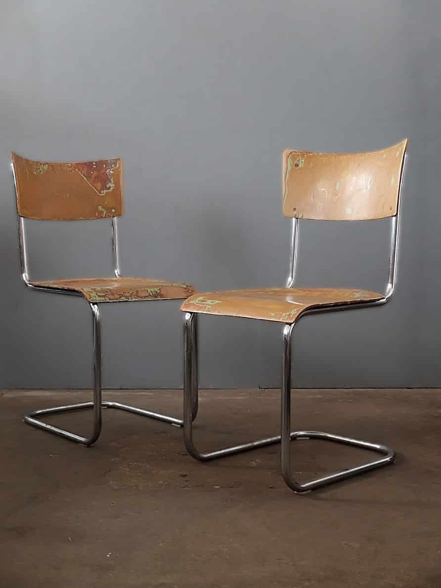 Freischwinger Bauhaus Sessel