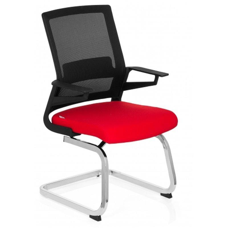 Freischwinger Stühle Schwarz
