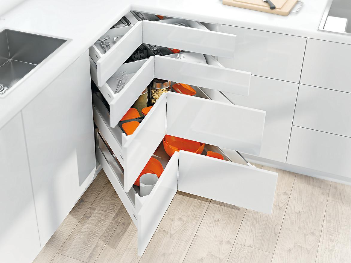 Freistehend Schubladenschrank Küche