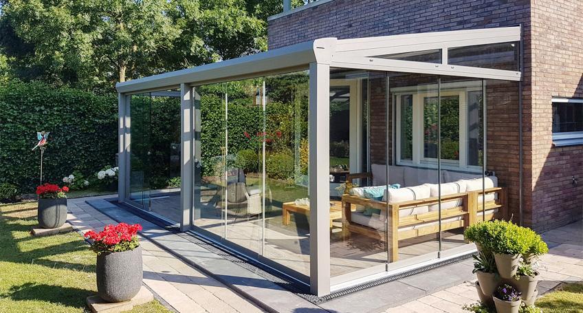 Freistehend Terrassenüberdachung Holz Modern