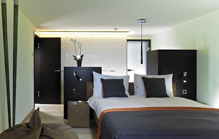 Freistehendes Bett Schlafzimmer