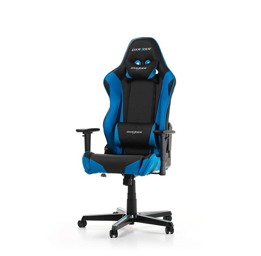 Gaming Stuhl Blau Schwarz